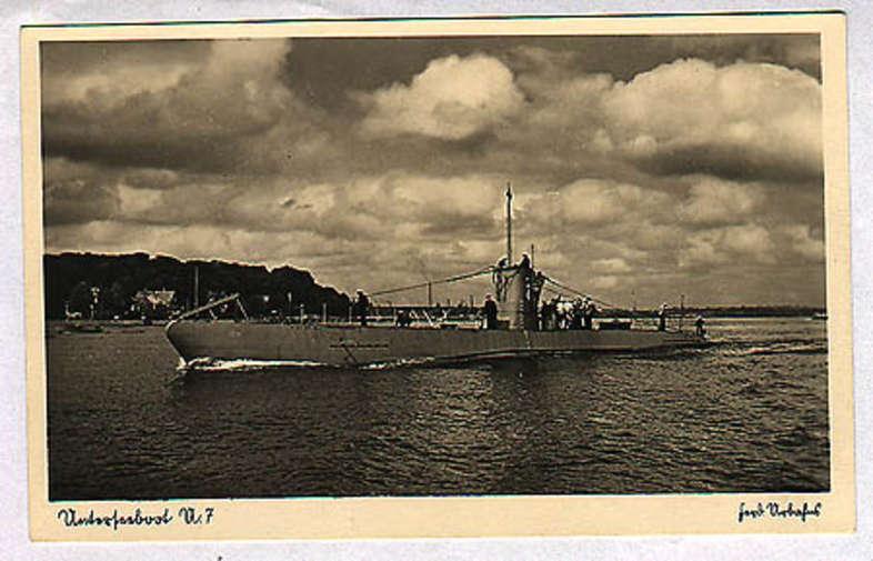 - Ships and Navigation, U-Boats, Submarines, WW-II