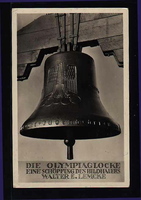 - Sport & Games, Olympic games Berlin 1936, Advertising Postcards