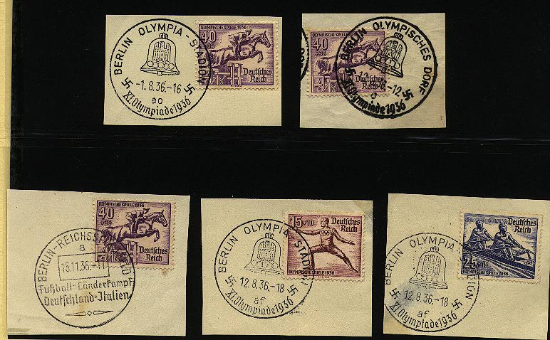 - German Empire, 1872 Small shield issue, Michel 614,15,16(3), Scott B87,88,89(3)
