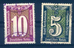 110: German Empire - Fiscal stamps