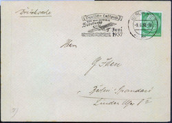 448086: Aviation, Airmail, Catapult Mail, South Atlantic Route