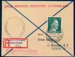 German Dienstpost worldwar II - Alpenvorland
