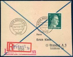 German Dienstpost worldwar II - Adria