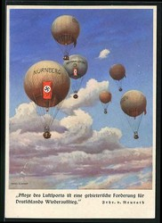 446810: Aviation, Balloons, Balloon Mail