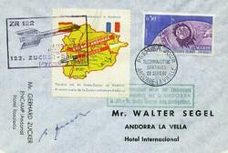 1670: Andorra Französische Post - Vignetten