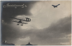 440610: Aviation, Military Airplanes - WW-I, Sanke Postcards
