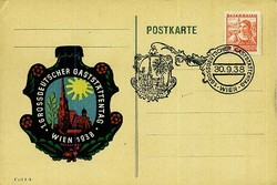 664042: Third Reich Propaganda, Special Postmarks, NS-events