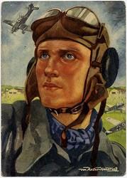 662500: Third Reich Propaganda, Artist Drawn Postcards