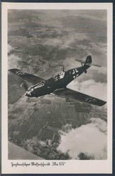 Aviation, Military Airplanes - WW-II, Messerschmidt