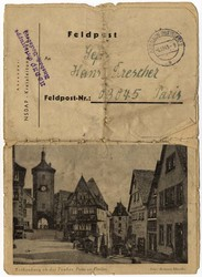 Fieldpost WW II