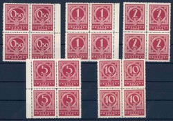 4085: Croatia - Postage due stamps