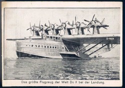 446020: Aviation, DO-X, Postcards