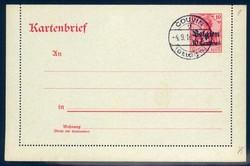 360: Deutsche Besetzung I. WK Belgien - Ganzsachen