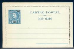 3870: Kap Verde - Ganzsachen