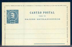 1690: Angra - Postal stationery