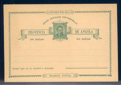 1680: Angola - Ganzsachen