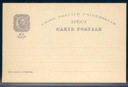 5280: Portugiesisch Afrika - Ganzsachen