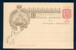 1770: Azoren - Ganzsachen