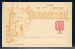 4225: Madeira - Ganzsachen