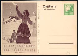 110: German Empire - Postal stationery