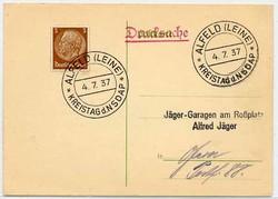 664006: Third Reich Propaganda, Special Postmarks, NSDAP