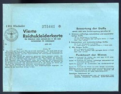 662830: Third Reich Propaganda, Documents, Vouchers