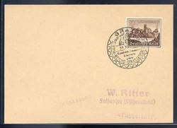 664020: Third Reich Propaganda, Special Postmarks, WHW