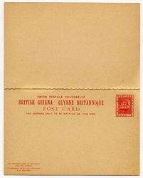 2950: Britisch Guayana - Ganzsachen