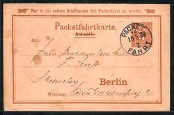 140: Deutsches Reich Stadtpost - Ganzsachen