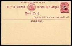 2950: Britisch Guayana - Privatganzsachen