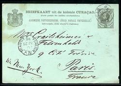 2345: Curacao - Ganzsachen