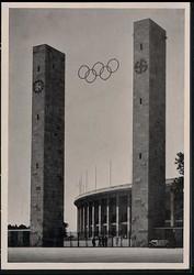 780505: Sport & Games, Olympic games Berlin 1936, arenas