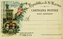 5590: San Marino - Ganzsachen