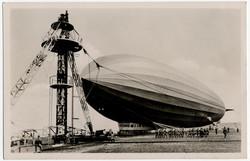 Zeppelin, Zeppelin Postcards, LZ 127