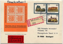 1380: German Democratic Republic - Private postal stationery