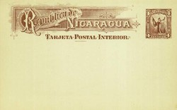 4590: Nicaragua - Ganzsachen
