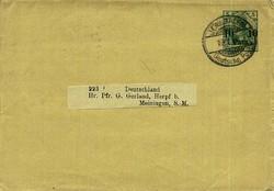 160: Deutsche Auslandspost Türkei - Ganzsachen