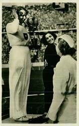 780518: Sport & Games, Olympic games Berlin 1936, Athlets
