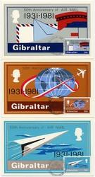 2790: Gibraltar - Maximumkarten