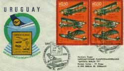 6600: Uruguay - Stempel