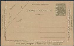 1665: Algerien - Ganzsachen