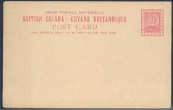 2950: 2950: Britisch Guayana - Ganzsachen