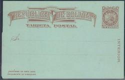1905: Bolivien - Ganzsachen