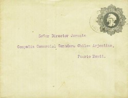 2055: Chile - Ganzsachen