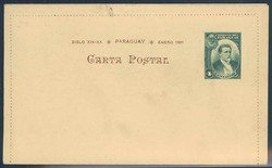 4905: Paraguay - Ganzsachen