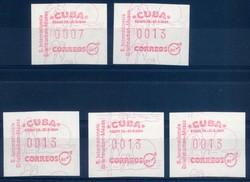 2335: Cuba - Automatenmarken