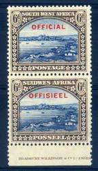 6120: Südwestafrika - Dienstmarken