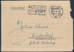664016: Third Reich Propaganda, Special Postmarks, SS