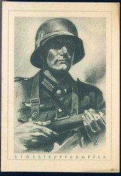 Third Reich Propaganda, Artist Drawn Postcards