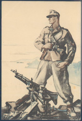 662500: Third Reich Propaganda, Artist Drawn Postcards